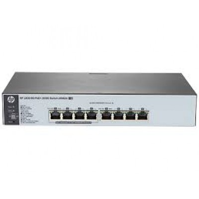 HPE OfficeConnect 1820-8G-PoE+ (65W) Switch
