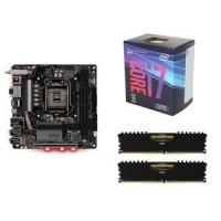Intel- Core i7-8700K Coffeelake Z370 Processor 32 GB ram DDR4