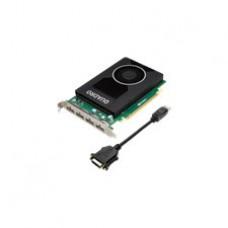 Quadro- M2000 4GB (4 DP) (1 DP to SL-DVI adapter)