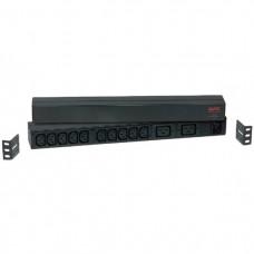 PDU,Basic, 1U, 230V, (10)C13 & (2)C19