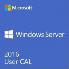 5-pack of Windows Server 2016 USER CALs (Standard or Datacenter)